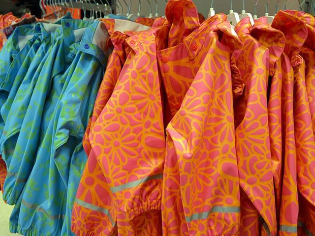 PVC-regntøj