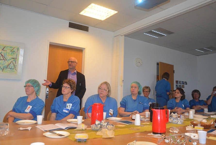 Dialogmøde på Fredericia Sygehus