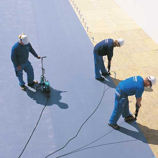 PVC-tagfolie byggeriet
