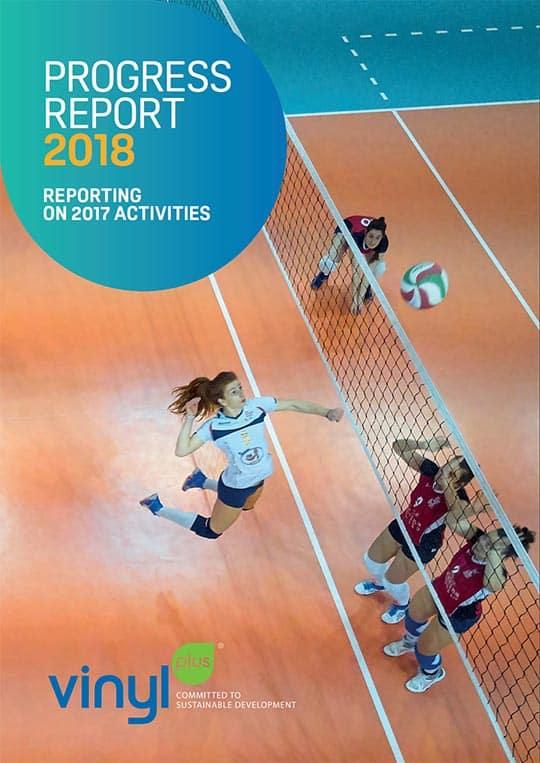 VinylPlus Progress Report 2018 cover
