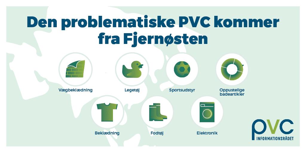 Den problematiske PVC kommer fra Fjernoesten