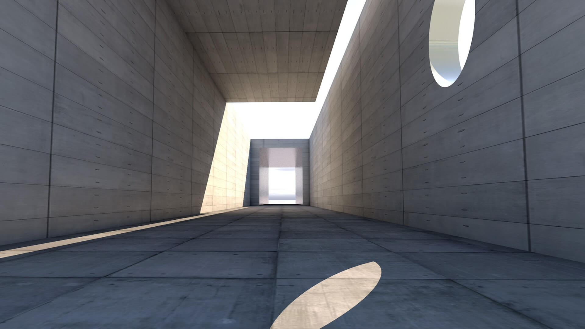 betonmuren gør det svært at komme igennem med budskaberne
