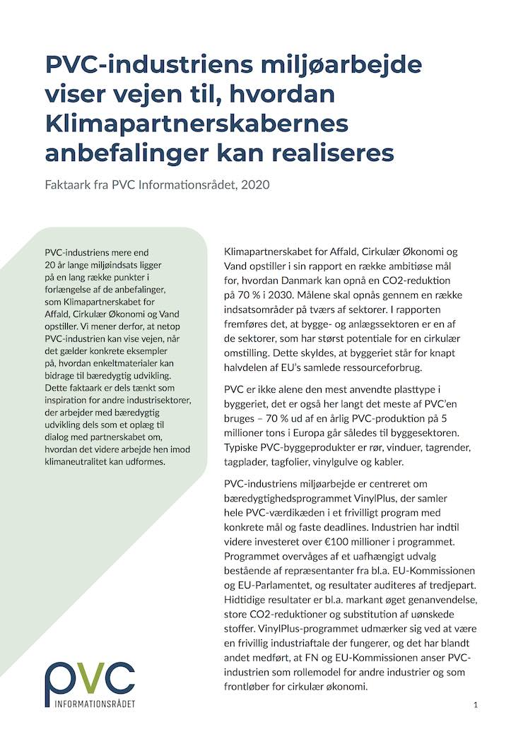 PVC_Klimapartnerskaberne-faktaark_final