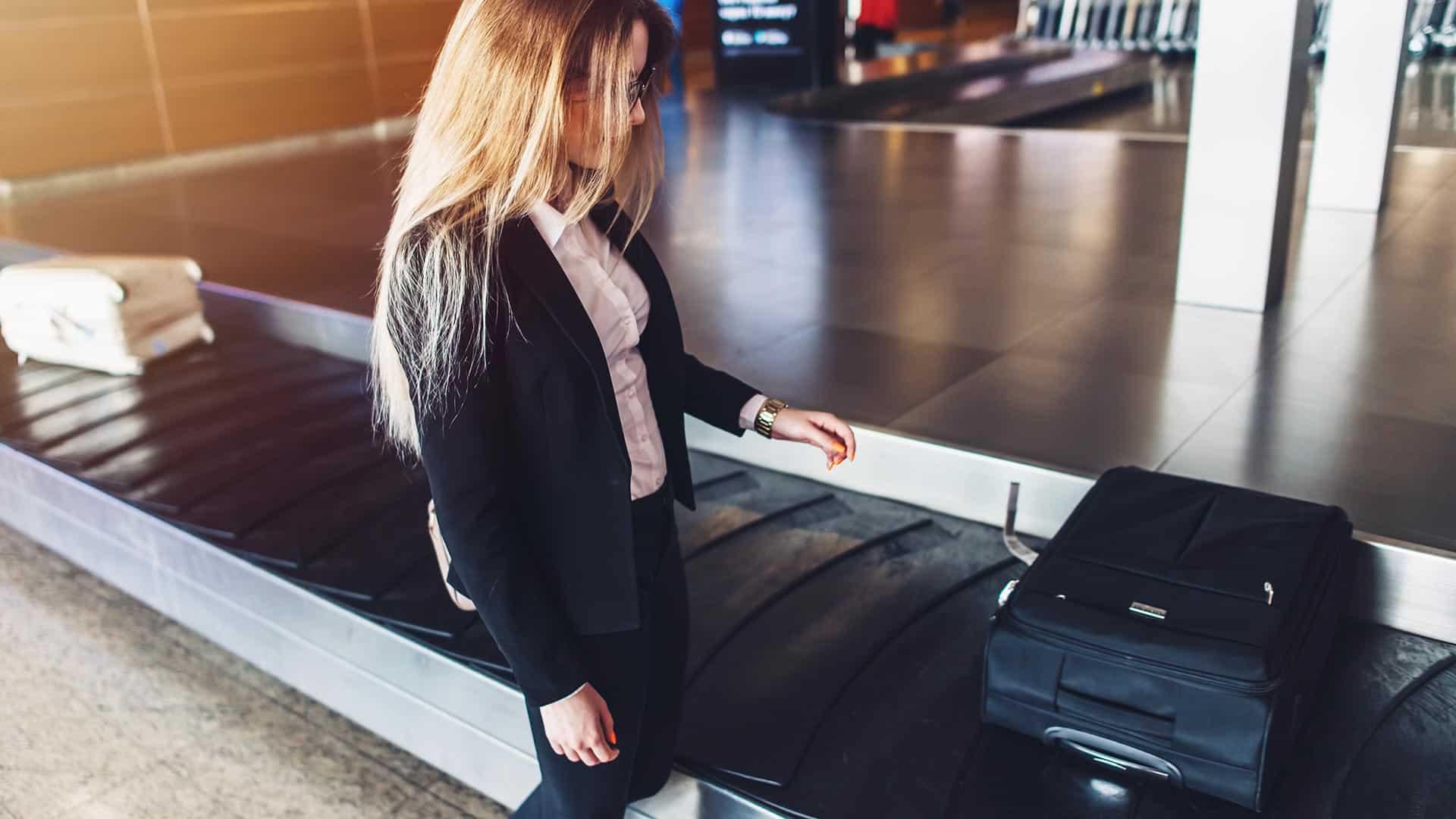 pvc transportbaand lufthavn