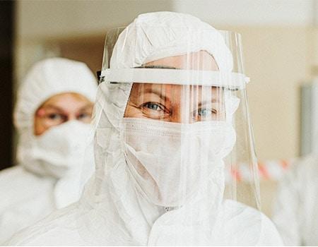 PVC bruges til værnemidler til coronabehandling